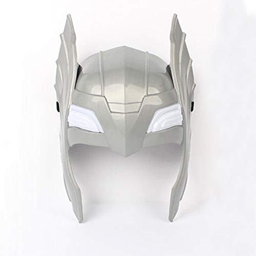 FidgetGear LED Glowing and Sounds Hammer LED Mask for Thor Action Figures Kids Cosplay Toys - Thors Helmet