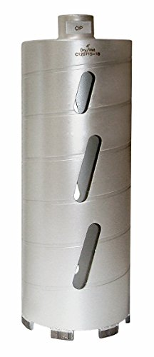 Concord Blades CBD04000HP 4 Inch Laser Welded Dry/Wet Diamond Core Drill Bit