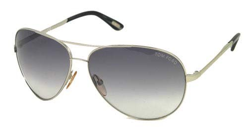 3d8cfc4eb7 Image Unavailable. Image not available for. Color  Tom Ford Charles Aviator  Grey Lens Sunglasses TF0035-753