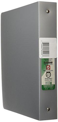 aurora-gb-polypro-binder-1-1-2-inch-round-ring-8-1-2-x-11-inch-size-2-tone-metallic-sterling-silver-