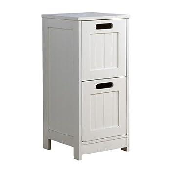 2 draer dresser white