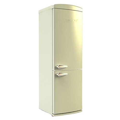 Nevera combi retronofrost a beige: Amazon.es: Hogar