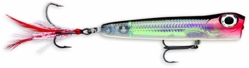 (Storm Chug Bug MadFlash 08 Fishing Lure, Black Silver Flash)
