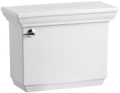 Kohler K-4434-0 Memoirs 1.28 Gallons Per Flush Toilet Tank with Stately Design, ()