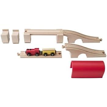 IKEA - LILLABO 12-Piece Train Set w/bridge, Tunnel (Set B)