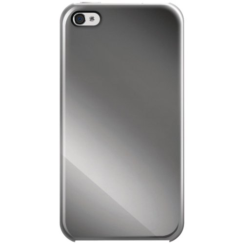 iLuv Gilt Metallic Case for iPhone 4S - 1 Pack - Case - Retail Packaging - Titanium Polished Gilt