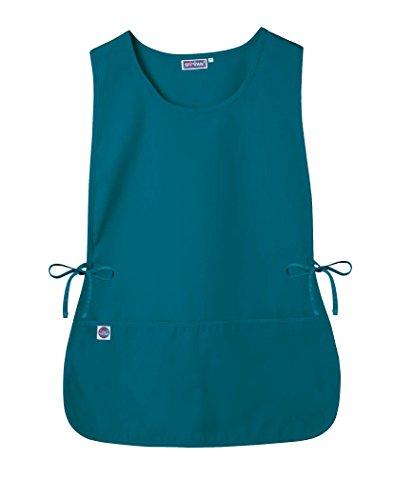 Sivvan Unisex Cobbler Apron - Adjustable Waist Ties, 2 Deep front pockets - S8700 - Teal Blue - Regular ()