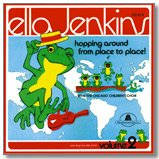 Hopping Around From Place to Place, Volume 2 CD by Ella Jenkins