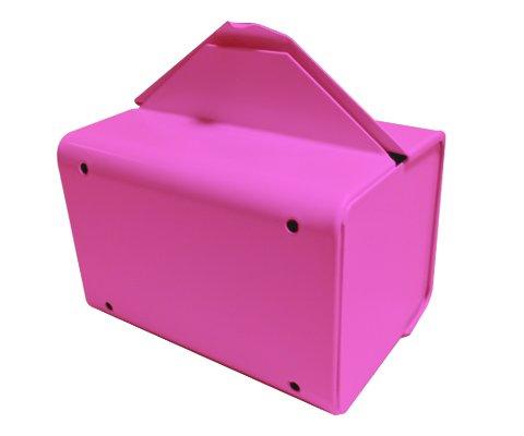 Sanitary Napkin & Tampon Disposal Bag Dispenser Kit - Roll Format, Pink