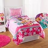 Paw Patrol Girls Pink Bedding Skye Everest Comforter + Full Sheet Set 5 piece Bedding Sets for Girls Kids Bed in a Bag Bundle (Full)
