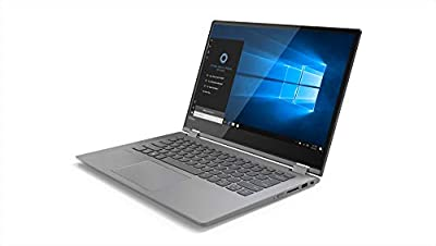 Lenovo Flex 14 2-in-1 Convertible Laptop, 14 Inch HD (1366 x 768) Touchscreen display, Intel Pentium 4415U Processor, 4GB DDR4 RAM, 128GB PCIe SSD, Windows 10, 81EM000VUS, Black