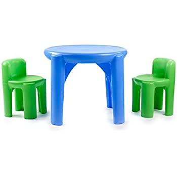 Remarkable Amazon Com Kids Table And Chairs Set Toddler Activity Machost Co Dining Chair Design Ideas Machostcouk