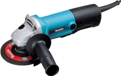 Makita Usa GA4030K Angle Grinder, With Small Barrel Grip, 4-In., 6-Amp, 11,000-RPM