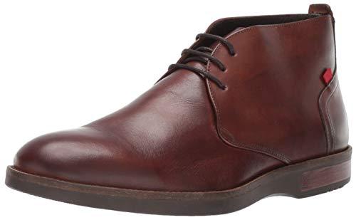 MARC JOSEPH NEW YORK Mens Leather Henry Street Boot Sneaker, Whiskey Brushed Nappa, 9.5 D(M) US