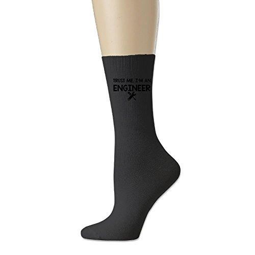 Structural Steel I-beam (Cotton Socks For Mens I Am An Engineer No-Show Socks Length 18cm 1 Set/1 Pack/2 Piece Black ZHONGJIAN)