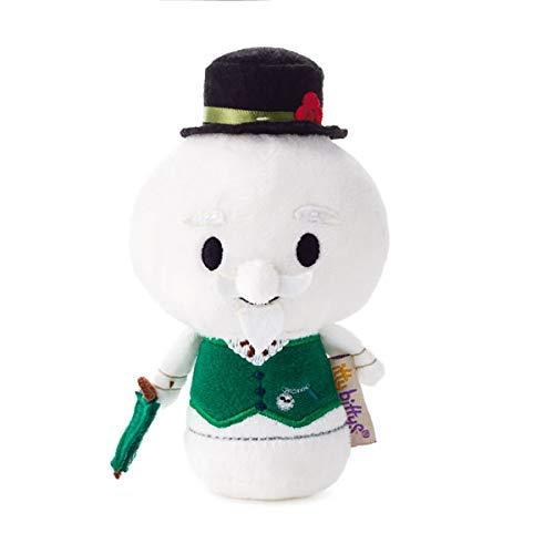 - HMK Hallmark 1KDD1612 itty bittys Rudolph The Red-Nosed Reindeer, Sam The Snowman Stuffed Animal