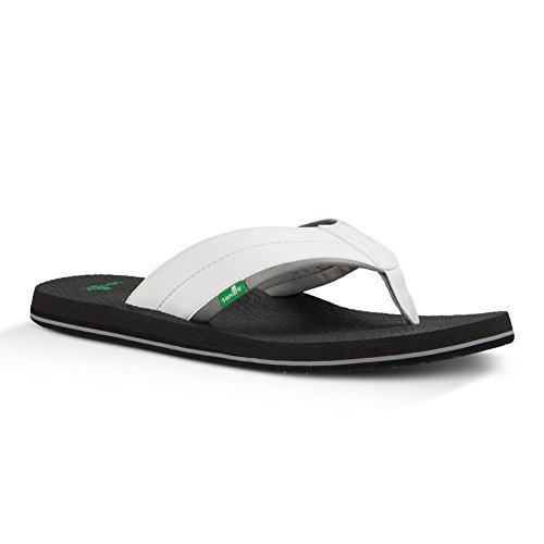 Flip Beer 2 Men''s White Sanuk Cozy flop nRxHP1wHq8