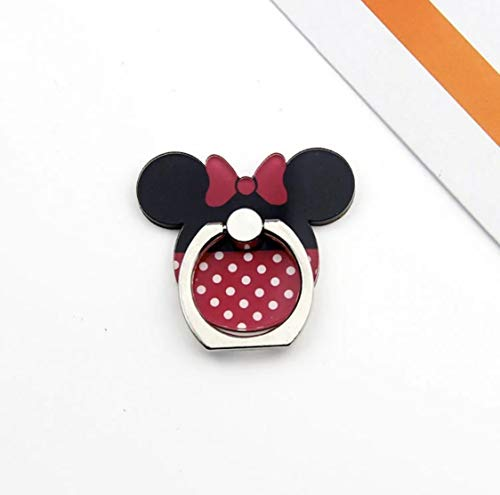 Minnie, Universal Smartphone Kickstand Cell Phone Ring Holder High Viscosity Finger Stand Grip Reusable Washable 360 Rotation for iPhone ipad Samsung Google HTC Most