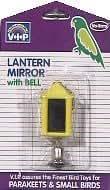 Vo-Toys Lantern Mirror with Bell Bird Toy