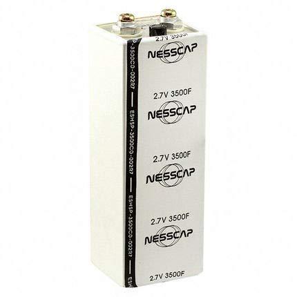 (NESSCAP 2.7V 3500F Super Capacitor Battery Solar Power Bank 12v Graphene Battery (2.7V 3500F×1pcs))