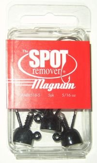 Buckeye Lures Buckeye Lures Spot Remover Magnum 1/4 oz. Black 5pk