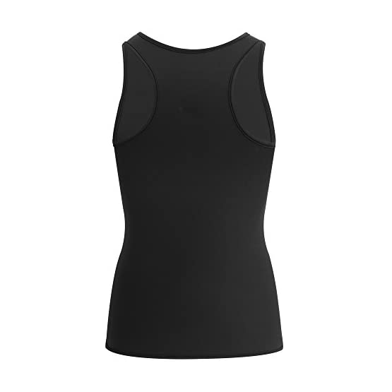 c5918901f4b Home   Sports and Outdoors   Sports and Fitness   Exercise and Fitness    Accessories   Sauna Suits   Comery Men Waist Trainer Corset Vest For Weight  Loss ...