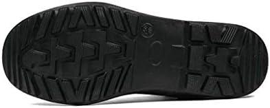 メンズハイトップトレーニングブーツアウトドア耐摩耗性快適な戦闘マーティンブーツキャンバスブラックトレーニングシューズレーススタイルセキュリティデューティタクティカルシューズブーツ (Color : 黒, Size : 28 CM)