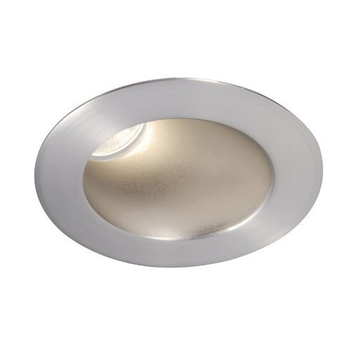 WAC Lighting HR-3LED-T418F-C-WT LED 3-Inch Recessed Down Light Adjustable Round Trim with 50-Degree Beam Angle Color Temperature: 4000K, White by WAC Lighting