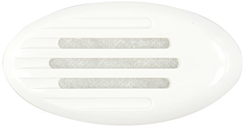 Marinco 11090 White Snap-in ASA Grill