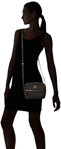 Hilfiger Black Tommy Shoulder Chic Women's Crossover Nylon Hilfiger Tommy Bag SpzqxE