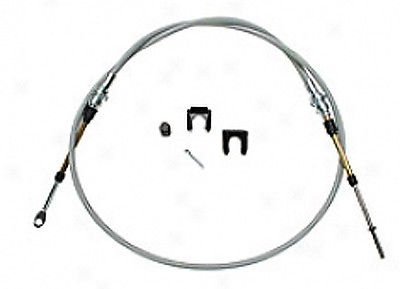 The Parts Place Hurst 5 Ft Shifter Cable - Eyelet Threaded Ends