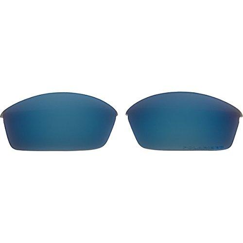Oakley Flak Jacket Standard Replacement Lens Ice Iridium Polarized, One - Ice Iridium Replacement Lenses