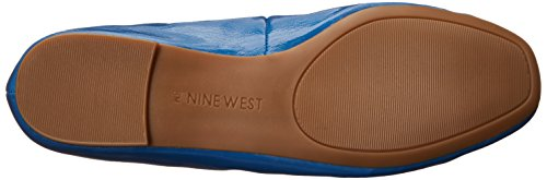 West Girlsnite Ballet Nine Flat Synthetic Blue 01v1xzw