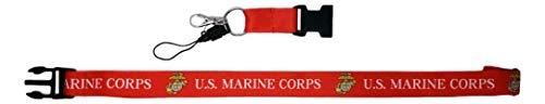Lanyards Corps Marine - Ramson's Imports 22-Inch United States Marine Corps Emblem Lanyard