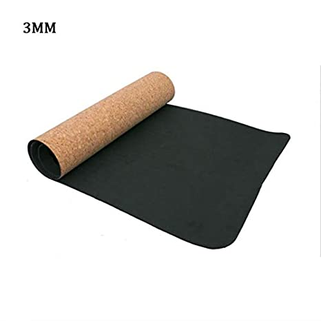 Amazon.com : 3MM/4MM/5MM/6MM/8MM Sports Yoga Mat Cork ...