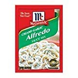McCormick Pasta Sauce Blend, Creamy Garlic Alfredo, 1.25-Ounce Unit (Pack of 24)