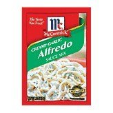 McCormick Creamy Garlic Alfredo Sauce Mix, 1.25 oz (Alfredo Sauce With Milk And Parmesan Cheese)
