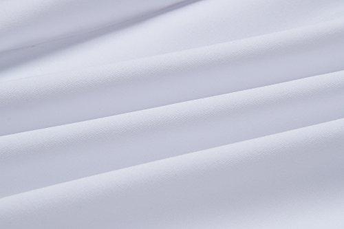 Shorts Backless Eleganti Volant Top Moda Smanicato Donna Pantaloncini Crop Pezzi Casual Scollo V Estivi Bianco Due Canotte Slim Con EwxHTOXBq