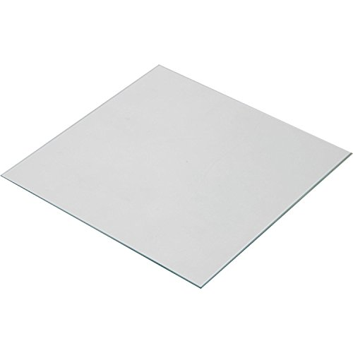 Signswise Clear Borosilicate Glass Heat Bed 140x140x3mm for Afinia and Up 3D Printers by Signswise