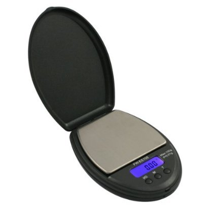 4 X American Weigh Scales Fast Weigh ES-100-BLK Black Digital Pocket Scale, 100 by 0.01 G