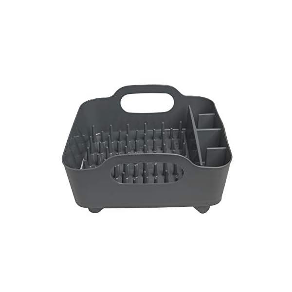 31sB2pLT08L Umbra Tub Geschirr Abtropfgestell – Abtropfkorb mit integriertem Tropfwasserabfluß für Ihre Spüle oder Arbeitsfläche in…