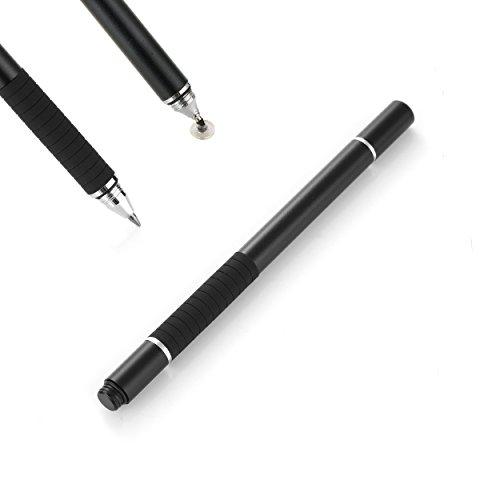 Präziser Eingabestift & Kugelschreiber für Tablet und Smartphone in Schwarz