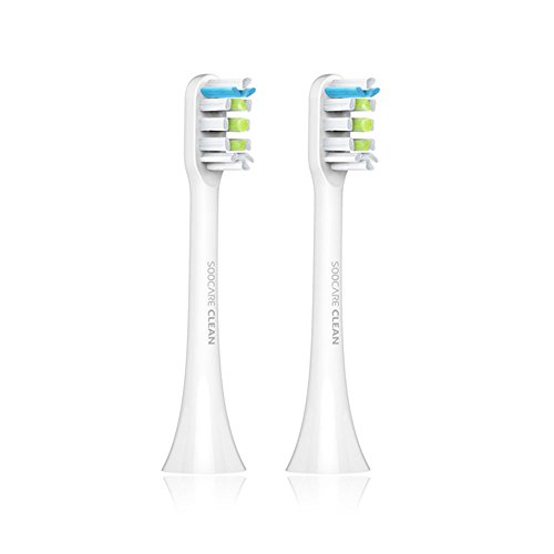 Emeir 2PCS SOOCAS/SOOCARE X3 Replacement Toothbrush Head