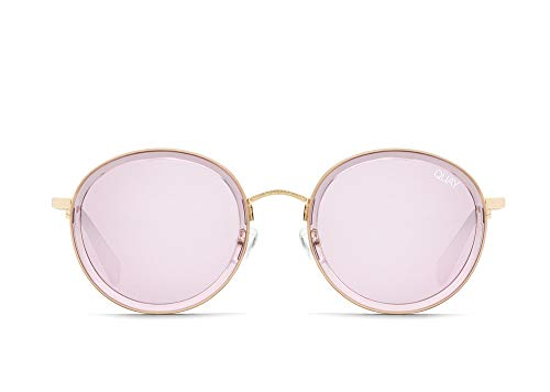 Quay Women's Firefly Sunglasses, Violet/Pink, One Size