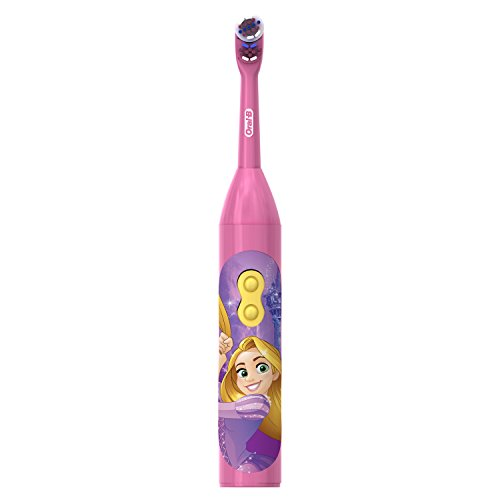 Oral-B Pro-Health Stages Disney Princess Power Kid's Toothbrush 1 Count (Best Tooth Brushing App For Toddlers)