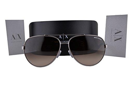 Armani Import Gradient Exchange Wbrown All Gunmetal It Ax2017s Sunglasses Tlcu1JFK35