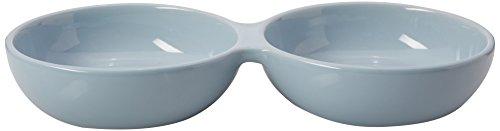 PetRageous 91431 1 Cup Blue Wubby's Duo Diner Bowl