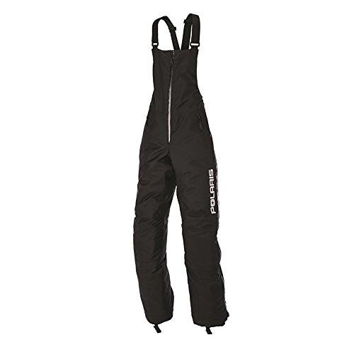 OEM Polaris Women Tailored Throttle Bib Snowmobile Pant 3M Thinsulate Insulation - Black - Large