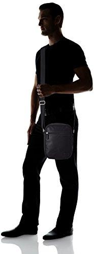 Levi's Crossbody - Bolso bandolera Unisex adulto Negro (Black)