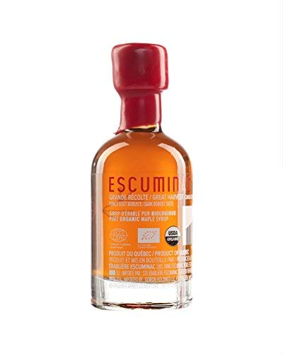 Award Winning Escuminac Canadian Maple Syrup - Gift Bundle - Valentines Day - Grade A - Extra Rare, Great Harvest and Late Harvest - Pure Organic Unblended Single Forest - 3 X 1.7 fl oz (50 ml) by Escuminac (Image #5)